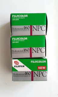 Expired 135 Film Fujicolor 160 NPC