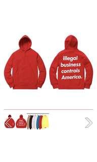 代訂 Supreme SS18 IBCA hoodie
