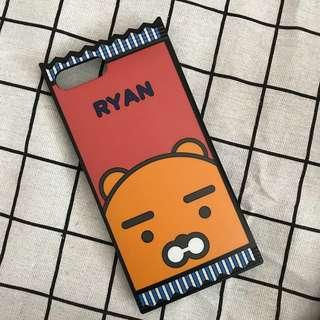iPhone 7+ / 8+ Phone Case KAKAO FRIENDS Ryan 零食包裝手機殻