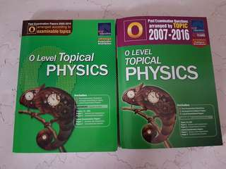 'O' Level Topical Physics Past Examination Questions/Papers