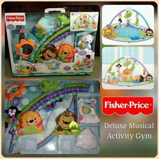 Fisher Price Deluxe Musical Playgym