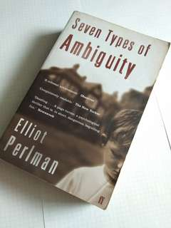 Seven Types Of Ambiguity (Buy 3 at $20)