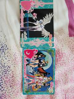 sailormoon cards