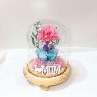 媽媽最愛 母親節禮物 母親節花 永生花 保鮮花
