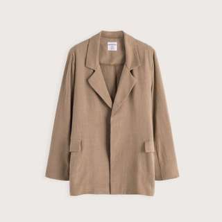 Pazzo 隨性休閒麻料西裝外套