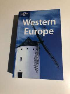 Lonely Planet Guide - Western Europe