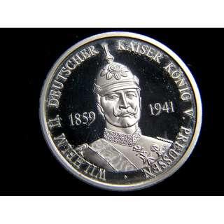 2009年德國發行德皇威廉二世誕辰150週年紀念章