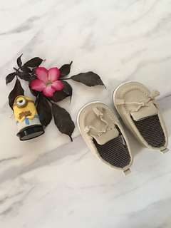 Mothercare Beige Oxford Shoes