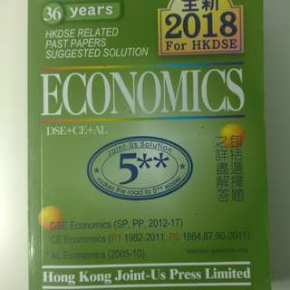 Economics Past Paper Answers 2018