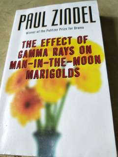 The Effect odd Gamma Rays on Man-in-the-moon Marigolds