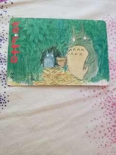 日本龍貓卡