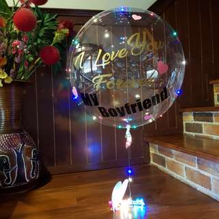 Transparent Bubble Balloon Decor