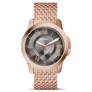 GRANT ROSE GOLD STAINLESS STEEL MEN'S WATCH FS5083
