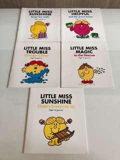 5 Little Miss Books