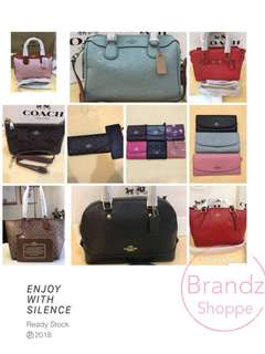 👑Pre-RAYA Sale!!! COACH Women Handbag Series 👜👛🎒ALL Ready Stock @ MUST HAVE!!!