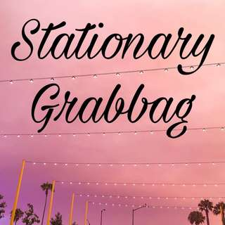 Stationary Grabbags (Washis, notebooks, etc)