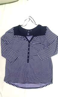 H&M stripes blouse