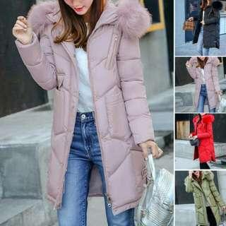 Hooded Winter Coat Jacket