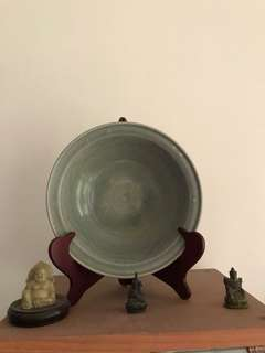 Lot Of Three Porcelain/Bronze Items