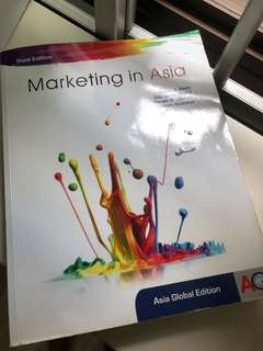 Marketing In Asia (third edition)