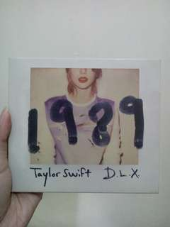Taylor Swift 1989 D.L.X. (Imported from HK)