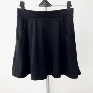 Rok Cotton On Flare Korean Skirt