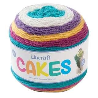Lincraft Cakes Yarn (Circus)