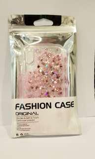 粉紅色流沙 Iphone X手機套