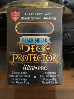 Ultra Pro Black Shield Deck Protector for Magic Cards