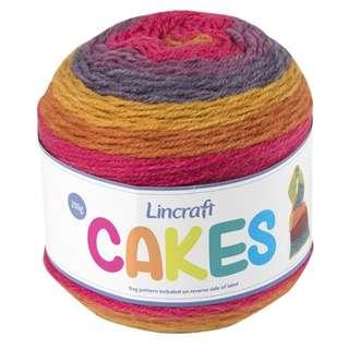 Lincraft Cake Yarn (Pumpkin Pie)