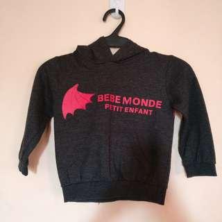 Bebe bat hoodie