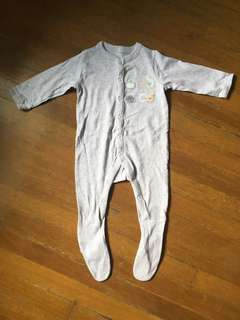 Mothercare ABC Patch Frog Suit
