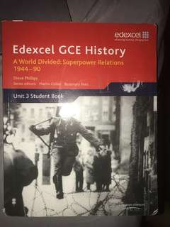 Edexcel GCE history A world divided: superpower relations - Steve Phillips