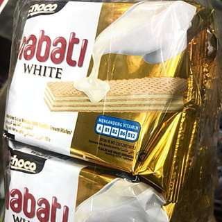 LAST 2 BAGS TO GO! Nabati White Wafer (OOS)