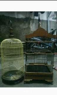 2 kandang burung
