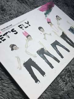 KPOP Album B1A4 - Lets Fly