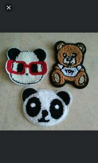 Sew on Patch - Bears
