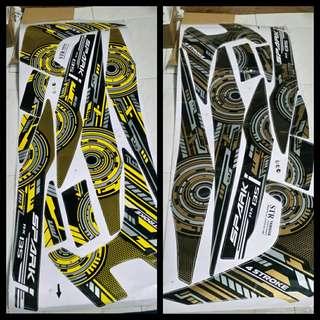 Yamaha Spark 135 Decal