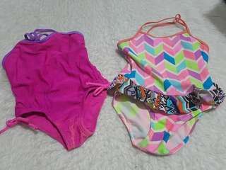 Girl's swimsuit set