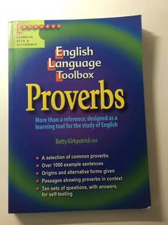 ENGLISH LANGUAGE - proverbs