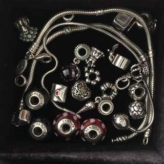 Authentic Pandora Charms & Bracelets