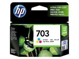 HP 703-color sealed