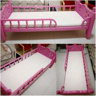 NEW Kids Bed with FREE Mattress! Princess Pink