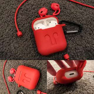 Airpods sleeve Red colour