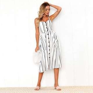 Printed Midi dress 🌸