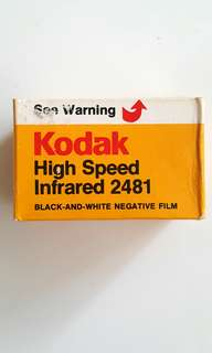 Expired 135 Film Kodak HIE High Speed Infrared (RARE)