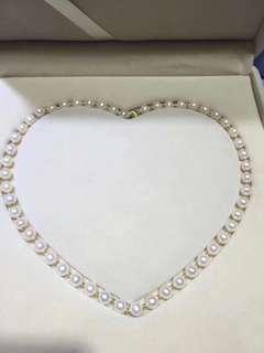 天然淡水珍珠項鍊(7-7.5mm)