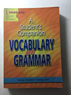 ENGLISH LANGUAGE - vocabulary & grammar