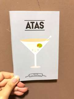 Atas Notebook - For The Posh Singaporean (Brand New)