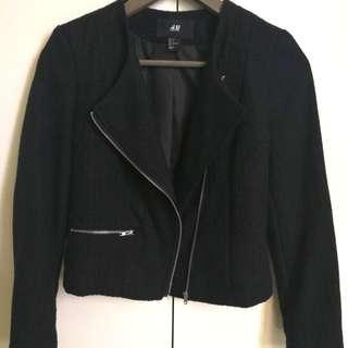 H&M Biker Jacket (Black)